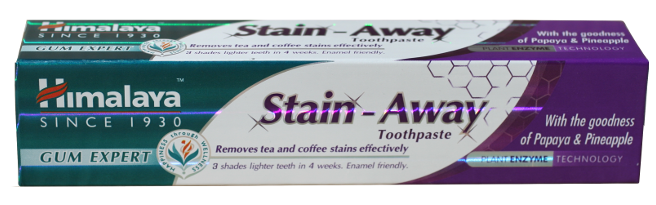 STAIN- AWAY TOOTHAPASTE (GUM EXPERT) 75 ML